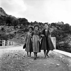"""howtoseewithoutacamera: """" by Robert McCabe Three friends, Ano Peristeri, Epirus, Greece, [x] """" Book Photography, White Photography, Greece Photography, Willy Ronis, Old Greek, Robert Doisneau, Fantasy Paintings, Great Photographers, Pictures To Paint"""