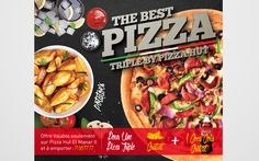 Pizza Hut visuel promo Carry out - Digital Syndrom http://www.digitalsyndrom.net/project/pizza-hut-visuel-promo-2/