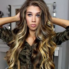 Long hair, perfect color