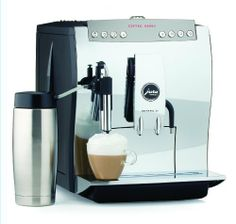Jura 13419 Impressa Z6 Automatic Coffee and Espresso Center by Jura-Capresso. $3199.99. Measures 16-1/2 by 12-1/2 by 14 inches; 1-year limited warranty. Conical burr grinder offers 6 fineness settings; accommodates pre-ground coffee. 18-bar power pump; 2 ThermoBlock heating systems; pre-infusion cycle. 1,350-watt coffee center with 8 1-touch programmable beverage buttons. Coffee/milk dual-nozzle system; 96-ounce removable water tank for easy filling. Amazon.com Pro...