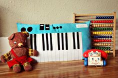 Keyboard Piano Plush Toy