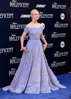 Elle Fanning at the LA premiere of Maleficent, May 28th