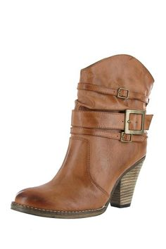 Cognac Ankle Boot / MIA   I own these boots and they are one of the most comfortable pairs of boots I will ever own!!