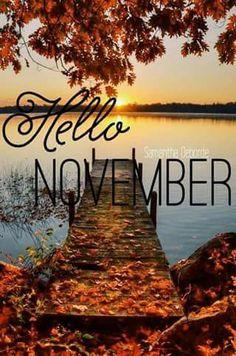 Novembre! tanto para agradecer.