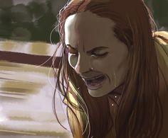 "Olivia Wilde dans ""Meadowland""(= ""dans la brume du soir) de R.Morano"