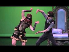 The Next Step - Extended: Blindfolded Internationals Dance - YouTube