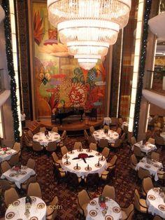 Allure of the Seas - Adagio Main Dining room