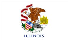 Illinois State Flag - About the Illinois Flag, its adoption and history from NETSTATE.COM