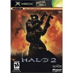 Halo 2 --- http://www.amazon.com/Halo-2-Xbox/dp/B00008J7NZ/?tag=pintrest01-20