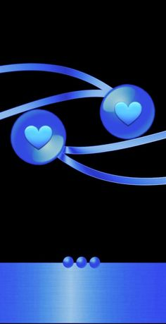 Blue Wallpapers, Iphone Wallpapers, Wallpaper Backgrounds, Heart Wallpaper, Shades Of Blue, Hearts, Colorful, Bright, Navy Blue Background