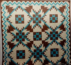 Southwest Mountains Quilt Pattern. $7.00, via Etsy.