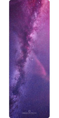 Milky Way Galaxy Yoga Mat