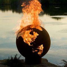 World fire pit.