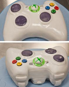 x box controller groom's cake... Too cool