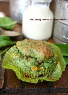 Savory Spinach Muffins (vegan) with Corn and Sun-dried Tomatoes