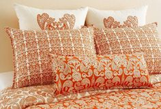 Persimmon bed set