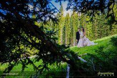 Photos of a summertime wedding at the Park Hyatt and the Beaver Creek Wedding Deck in gorgeous Beaver Creek, Colorado.