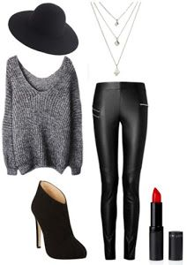 OUTFIT NEGRO ELEGANTE CASUAL