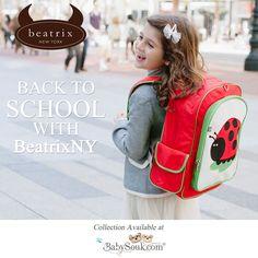 0add670747 My Sweet Muffin - Beatrix Juju Ladybug Big Kid Backpack: Machine washable  backpack for ages 5 to