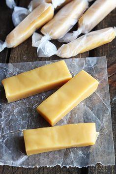 Microwave Caramels – The Recipe Critic Soft Caramels Recipe, Microwave Caramels, Caramel Recipes, Candy Recipes, Sweet Recipes, Desserts Français, Cake Filling Recipes, Dessert Cups, Desert Recipes