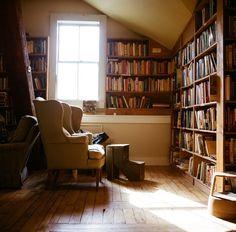 books ,,, chairs ... light
