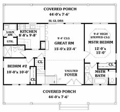 Love this layout, would eliminate the top floor wouldnt need it, and turn part of the great room into craft storage and work area.  great plan