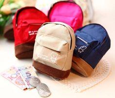 1 Pcs Mini Satchel Coin Purse Bag Zero Handmade Key Bag Buckles Kids Doll Gift | eBay
