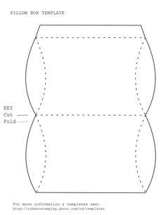 Free Pillow Box Template: Free Pillow Box Template