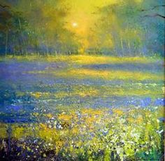 """""""Evening light in Bluebell Forest """""""
