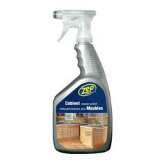 Using Citrus Cleaner And Hot Sponge To Remove Grease From Kitchen Cabinets And Other Winter