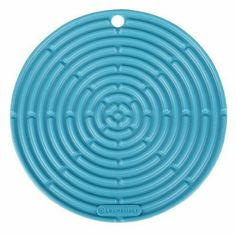"Le Creuset Silicone 8"" Round Cool Tool, Caribbean : Amazon.com : Kitchen & Dining"
