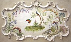 "#3282 Horizontal Panel, Chateau des Champs 26""x44"""