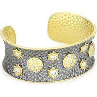 Freida Rothman Metropolitan 925 Vermeil Wide Paparazzi Open Cuff Bracelet$495More details