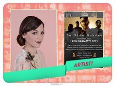 Anoche, Natalia Lafourcade y La Vida Bohême vieron premiados sus proyectos musicales con tres Latin Grammy | Con ambos artistas tuvimos el placer de laburar en distintas oportunidades. Bravo por ellos!