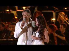 Andrea Bocelli feat. Sarah Brightman Canto della Terra - YouTube