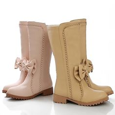 now if you are not into heels and love your boots...what about these ones for your wedding/ The pink ones are very cute...