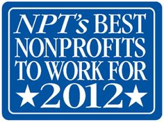 The best nonprofits to work for in 2012.