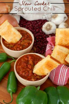 Slow Cooker Sprouted Chili