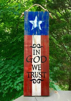 America Flag Sign In God We Trust wood sign sayings porch sign yard art flag veteran patio deck stars and stripes hand painted Patriotic Crafts, July Crafts, Summer Crafts, Patriotic Wreath, Wood Signs Sayings, Sign Quotes, Wooden Signs, Wooden Flag, Flag Signs