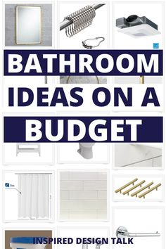 wow this is so helpful for my bathroom remodel. I had no idea how much everything cost but now I do!