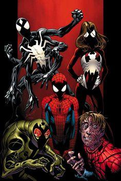 #Ultimate #Spiderman #Fan #Art. (Ultimate Spider-Man #103 Cover) By: Mark Bagley & Richard Isanove. ÅWESOMENESS!!!™ ÅÅÅ+