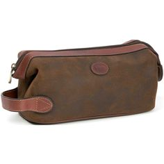 LEATHER Picture Bags   Suede Leather Toilet Bag - 808359, Toiletry & Cosmetic at Sportsman's ...