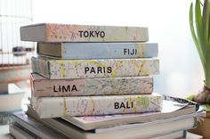 Make some travel memento boxes www.apairandasparediy.com by apairandaspare, via Flickr