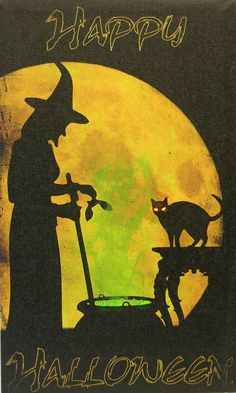 This canvas lights up for the added touch to your Halloween decor. The witch's brew glows with a radiant light and the cat's eyes also glow. A versatile piece that can hang or prop on a shelf. Require