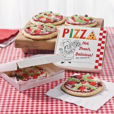Pizza Cookies - OrientalTrading.com