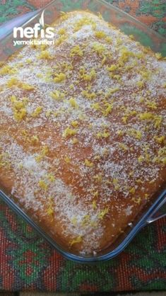 Limonlu Islak Kek