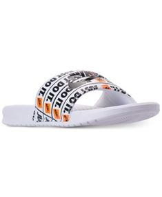 7a9d48ecb668 Men s Benassi Just Do It Print Slide Sandals from Finish Line