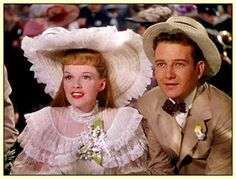 Judy Garland and Tom Drake in Meet Me in St. Louis