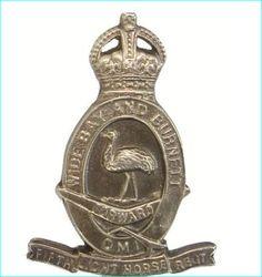 Queensland Light Horse Brigade .Pre-World War 11.