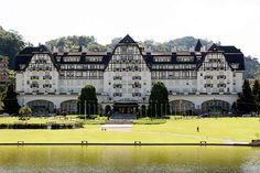Palácio Quitandinha-Petrópolis-Rio de janeiro-Brasil